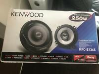 Brand new kenwood speakers - 250 watts 5.25 inch