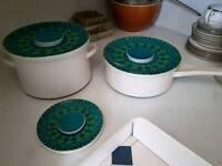 pots, cutlery, kitchen utensils, ceramic dishes etc