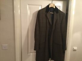 Tweed Coat in Green- 48R