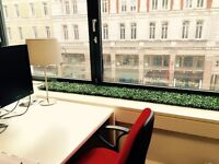 Shared office space in Central London