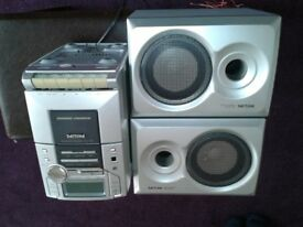 PHILIPS CD And Cassette Stereo System
