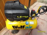 a wolf air compressor