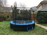 Trampoline 10ft with new netting and base skirt