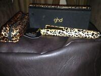 Ghd leopard print hair straightners