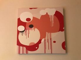 Habitat abstract canvas