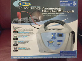 Ring Battery charger for up to 2.5L cars