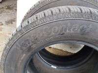 Continental Vancontact tyres x 4 205 65 r16c 107/105T. from a 2015 VWt5