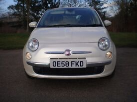 Fiat 500 1.2 Lounge with Factory Extras