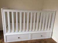 Cod bed with wardrobe and mattress new