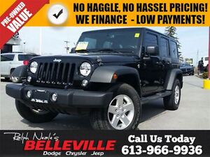 2014 Jeep Wrangler Sport-Dual Tops-TOW Group