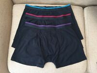 Men's Matalan black boxer shorts/trunks, XL