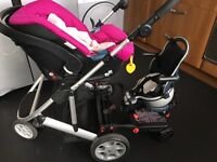 Buggypod perle for sale! Don't buy a double buggy, buy this!