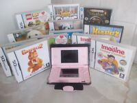 Nintendo DS & 10 Games.
