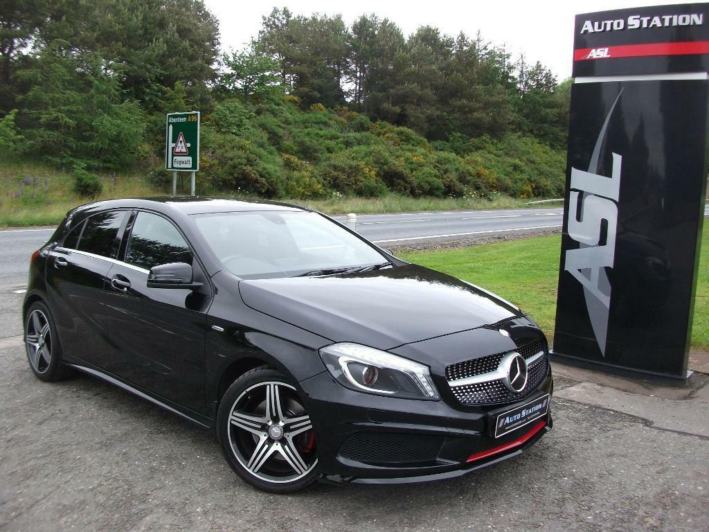 mercedes benz a class a250 engineered by amg auto black 2013 in elgin moray gumtree. Black Bedroom Furniture Sets. Home Design Ideas