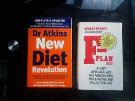 For sale : F-Plan & Dr. Atkins New Diet Revolution