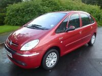 2004 54 Citroen Picasso 1.6 Petrol. Brand New M.O.T. Lovely Condition. PX Possible