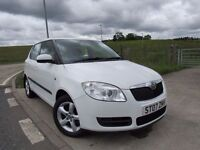 SKODA FABIA 1.2 LEVEL 2 HTP 5d 68 BHP 6 Month RAC Parts & Labour Warranty Years MOT Included