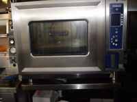 Hobart 6-Grid Electric Combination Steam Convection 3-Phase Oven