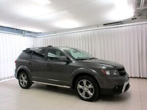 2016 Dodge Journey CROSSROAD AWD SUV 7PASS w/ HEATED LEATHER, NA