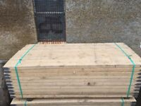 Scaffold boards kwick stage 2.4m long 225mm Wide x 60mm thick