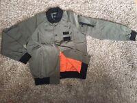Genuine Hero's Heroine Khaki Bomber Jacket