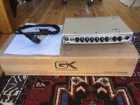 Gallien Krueger MB500 500 watt lightweight bass head amp