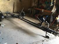 Heavy duty boat trailer