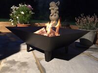 Outdoor fire pits.