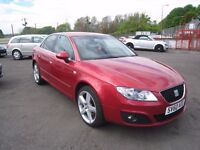 Seat Exeo 2.0 TDi Diesel Sport. Based on Audi A4. Only 63000 miles. 12 Months MOT