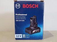 BOSCH 10.8v/12v 4AH BATTERY SEALED IN BOX