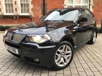 2006 BMW X3 Sd M Sport 3.0 285bhp TWIN TURBO **AUTOMATIC** FULL BMW HISTORY**PX WELCOME X5 X1