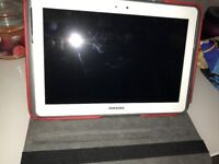 Samsung Galaxy Note 10.1 Tablet White , Great working order