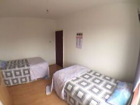 ***Lovely bed in a share room***