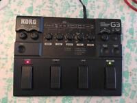 Korg G3 guitar multi-effects
