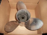 Quicksilver Laser II stainless propeller