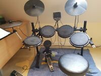 Alesis DM6 drum kit, stool, sticks, music stand, full working order