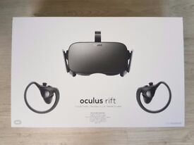 Oculus Rift Touch Bundle VR - Virtual Reality Headset - 3 Months Old with Receipt !!