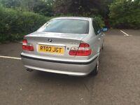 2003 BMW 325i SE 3 SERIES 4DOOR SALOON AUTOMATIC PETROL.2494cc