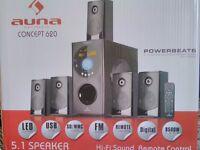 Auna 5.1 surround system