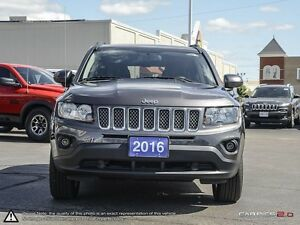 2016 Jeep Compass NORTH | 4X4 | HANDS FREE | HEATED SEATS | Cambridge Kitchener Area image 2
