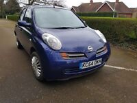 2005 NIssan Micra 1.2SE 4 Door AUTOMATIC - Keyless Start- Full MOT - FULL Service History - 3 keys