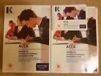 ACCA P5 Kaplan study materials