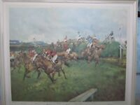 Grand National - framed print