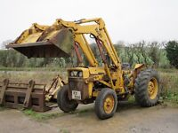 m f 40 loader tractor with linkarms
