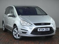 FORD S-MAX 1.6 TDCI TITANIUM 5DR [START STOP] (silver) 2014