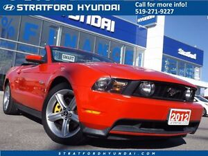 2012 Ford Mustang GT | CONVERTIBLE | FALL CLEAROUT! | LEATHER |  Stratford Kitchener Area image 1