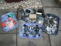 FORD CAPRI MK1 MK3 SPARE PARTS JOB LOT electrics trim nuts cables badge