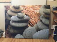 Canvas stones