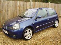 Renault Clio Sport 172, Blue, Hatchback, Low Mileage