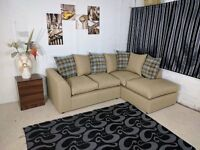 ONLY £319!! BRAND NEW LUXURY CHARLES MIDNIGHT (3+2) SOFA SET OR CORNER SOFA ON SPECIAL OFFER